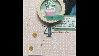 (deutsch) Scrap The Sketch Nr. 15 // scrapbooking process viedo // Januar Hip Kits //