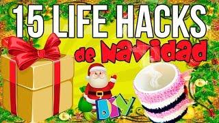 15 TRUCOS o LIFE HACKS para NAVIDAD
