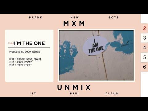 MXM (BRANDNEW BOYS) 1st Mini Album 'UNMIX' Preview