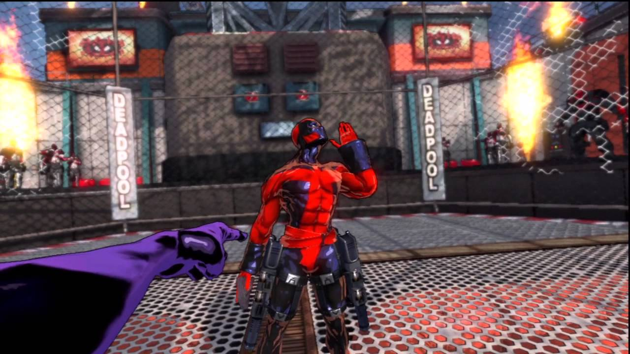 Spider-man Shattered Dimensions: Dead Pool boss fight - YouTube