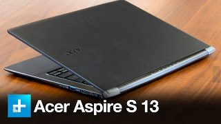 Acer Aspire S13 - Review