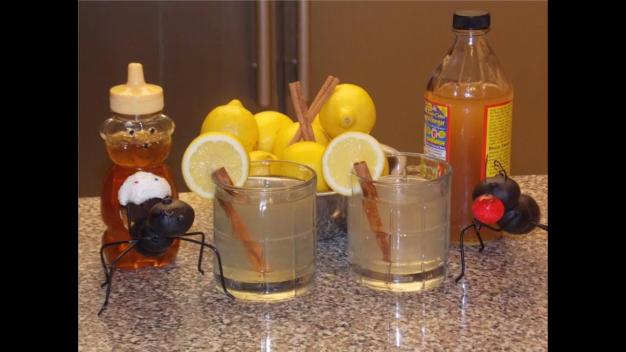 Apple Cider Vinegar  U0026 Cinnamon Weight Loss Tonic