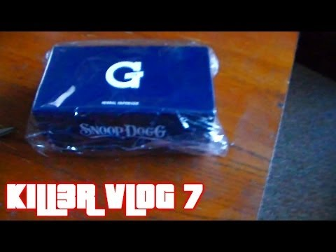 KILL3R VLOG 7 SNOOP DOGG G PEN UNBOXING (1080p)