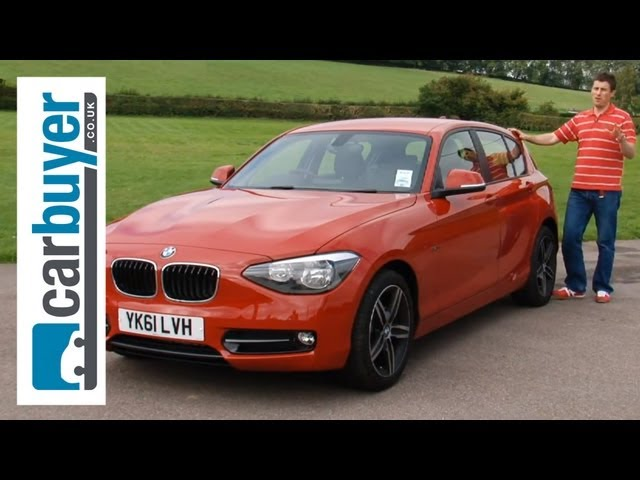 BMW 1 Series hatchback 2013 review - Carbuyer - YouTube