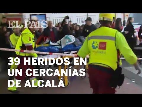 39 heridos en un accidente de Cercanías en Alcalá