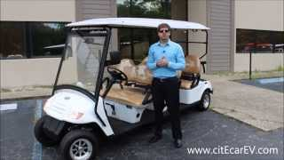citEcar Electric Vehicles 6pf Streetal Golf Cart for Sale - Low Sd Vehicle