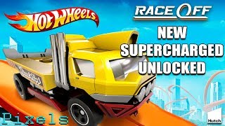 Hot Wheels Race Off - New Supercharged Car Unlocked