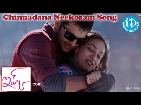 Chinnadana Neekosam Song - Ishq Movie Songs - Nitin - Nithya Menon video