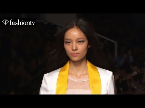 Fei Fei Sun: Model Talk at Spring/Summer 2014 Fashion Week | FashionTV
