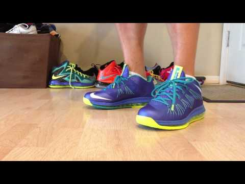 Lebron X Sprite Low Review On Foot (HD)