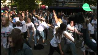 Keeping it fresh - Flashmob Manifestation i Söderhamn på Schools Out 2012 BeSmart