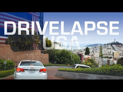 Drivelapse USA - 5 Minute Roadtrip Timelapse Tour Around America