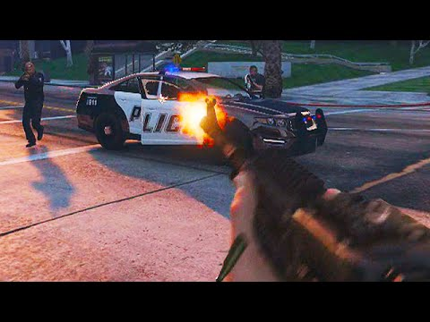 GTA 5 FIRST PERSON SHOOTING GAMEPLAY Exclusive YouTube