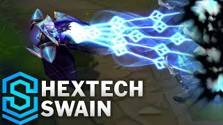 Hextech Swain Skin Spotlight - Pre-Release - League of Legends