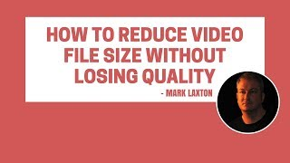 How To Reduce a Video File Size | Upload Videos Quicker Using This Sneaky Free Hack Method