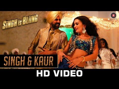 Singh & Kaur Video Song - Singh Is Bliing