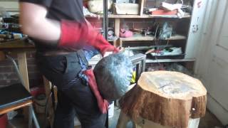 Making a Medieval Norman Helmet - Part 1