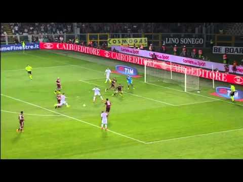 Highlights/gol serie a  1º giornata TORINO - INTER 0-0. 2014/2015