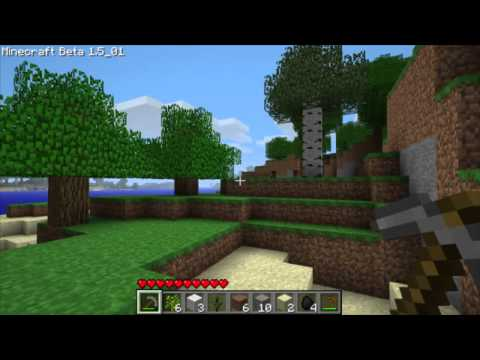Minecraft: Let's Play with Gleeson - Ep. 01