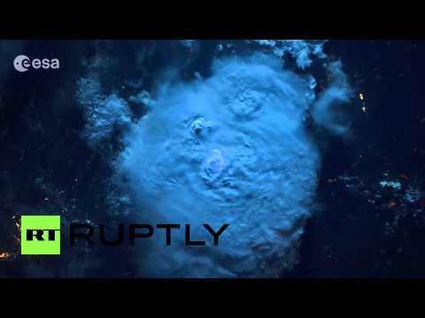 Space: See Space-eye-view Of Stunning Lightning Storm video