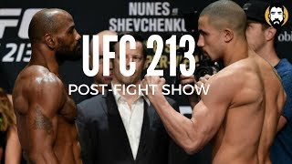 UFC 213 Results: Yoel Romero vs. Robert Whittaker | Post-Fight Show