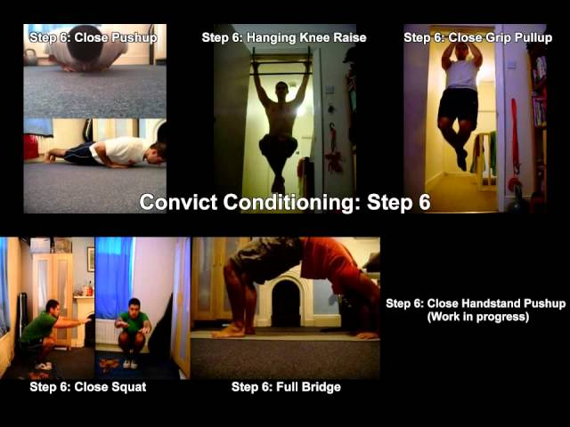 Convict Conditioning Results Convict Conditioning General