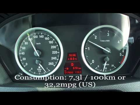 BMW X6 xDrive40d Fuel Consumption Test