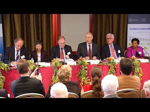 Global Innovation Index 2014 Panel: Innovation & Economic Growth