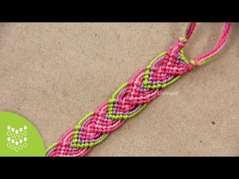 Macramé Leaves: Friendship Bracelet