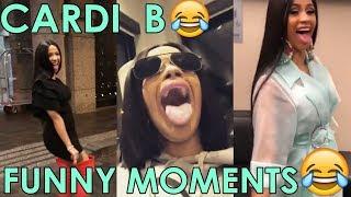 Cardi B Best Epic Funny Moments Crack Pt 1