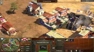 MacBook Pro 2019 My first gameplay commentary age of empires 3 gameplay