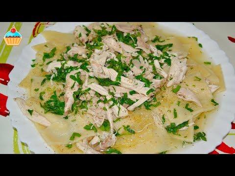 Как приготовить бешбармак из курицы - видео