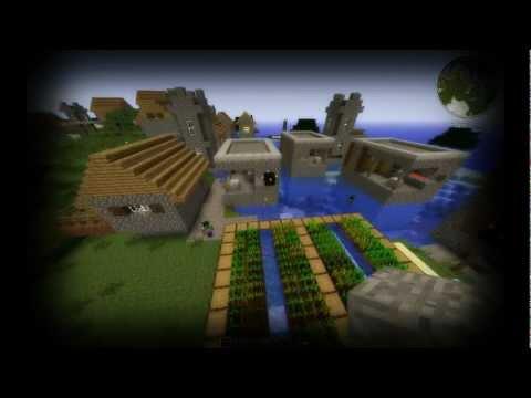 Minecraft: (1.2.5) Huge village seed! [HD]