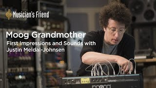 Moog Grandmother Synthesizer - First Impressions and Sounds with Justin Meldal-Johnsen