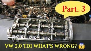 VW SHARAN 2.0TDI PROBLEM ENGINE SILNIK part. 3