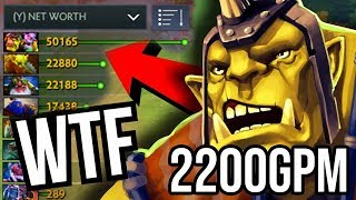 NEW WORLD RECORD 2200 GPM - 9Min Radiance Alchemist Insane Farm 15 Items in 30 Min DOTA 2 WTF 2019