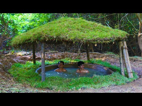 Build Mini Underground Swimming Pool