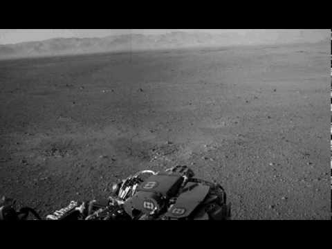 Mars  Curiosity rover being monitored by Alien vehicles, ufo, Aug 2012