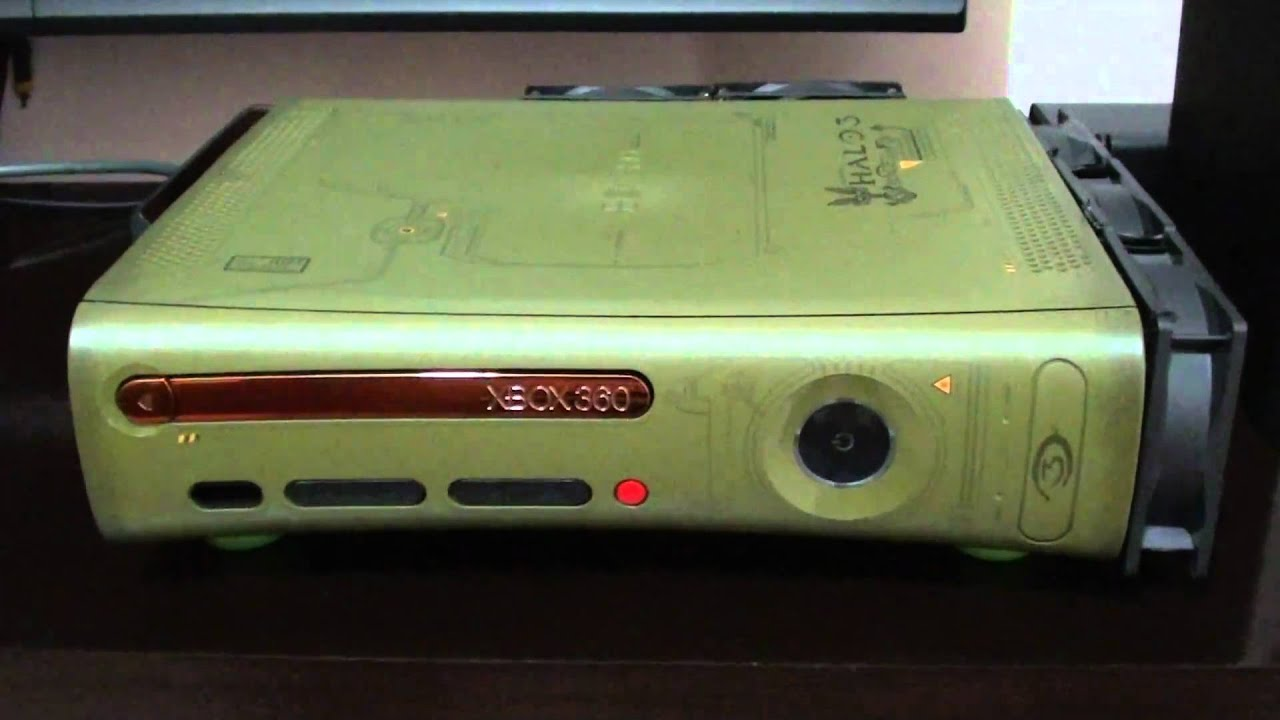 Xbox 360 Fat Halo Edition