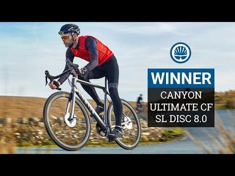 Climbing Bike of The Year WINNER   Canyon Ultimate CF SL Disc 8.0 Aero