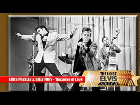 Elvis Presley & Billy Fury Duet- Because Of Love-world Exclusive! video