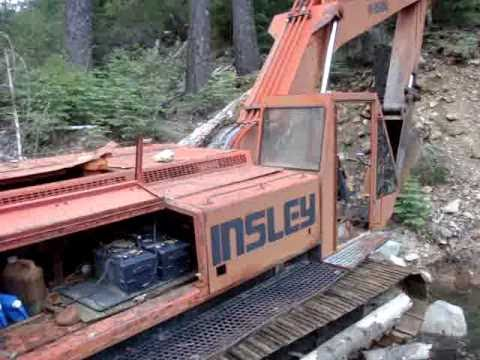 Insley Excavator.