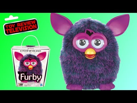 New 2012 Furby Toy Review And Unboxing, Christmas 2012 #1 Toy