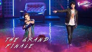 Grand Finale: Joe Jonas and Aydan Calafiore sing Shut Up and Dance | The Voice Australia 2018
