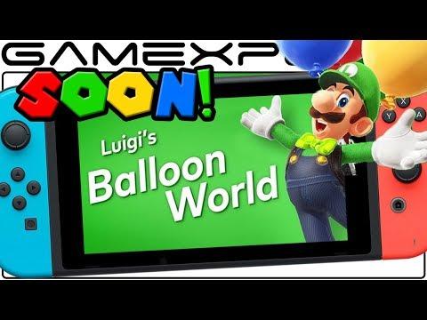 Super Mario Odyssey's Luigi's Balloon World Update Seemingly Imminent!