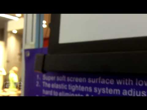 ISE 2015: SNOWHITE Projection Shows HD-Tab Tension Screen