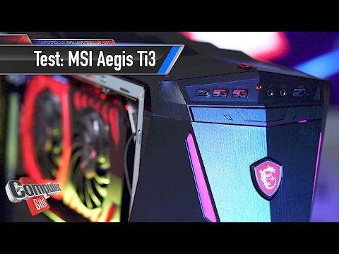 MSI Aegis Ti3 im Test: 5.000 Euro pures Gaming?