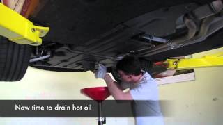 BMW 1M - Oil Change