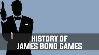 History of James Bond Video Games (1983-2012)