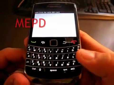 How to unlock Blackberry Bold 9700 AT&T Verizon T-mobile Rogers Vodafone Telus Bell Koodo